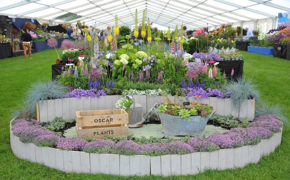 PRESS Blenheim Flower Show - Floral Display
