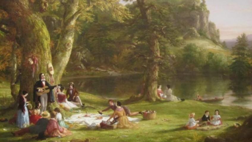 Dining Al-fresco in summer