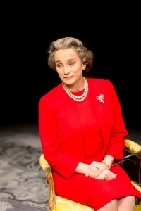2. The Queen (Kristin Scott Thomas) in The Audience. Photo by Johan Persson