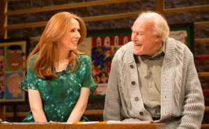 Catherine Tate and Timothy West. Photo by Johan Persson