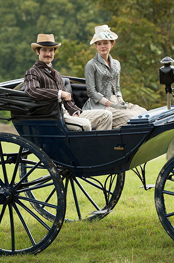 Tom Sturridge and Carey Mulligan in Far from the Madding Crowd - Credit IMDB