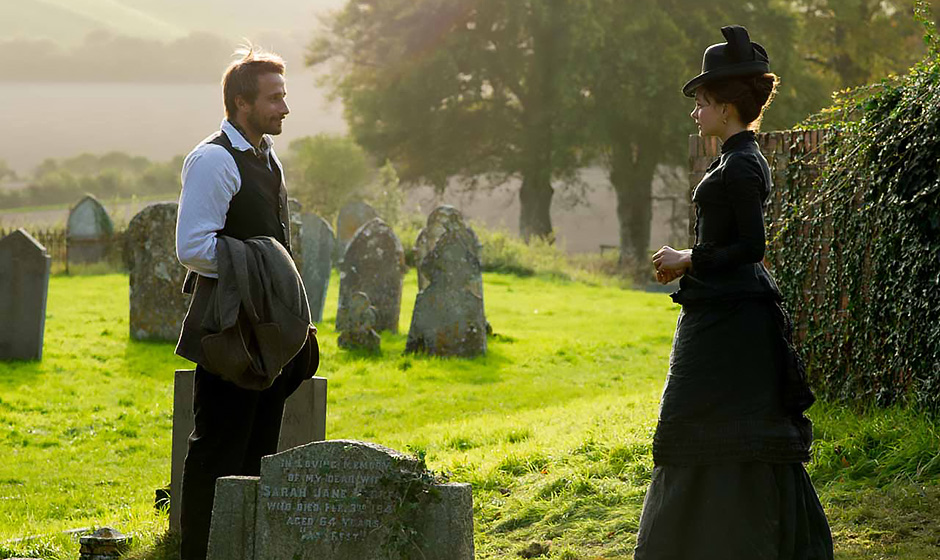 Matthias Schoenaerts and Carey Mulligan in Far from the Madding Crowd - Credit IMDB