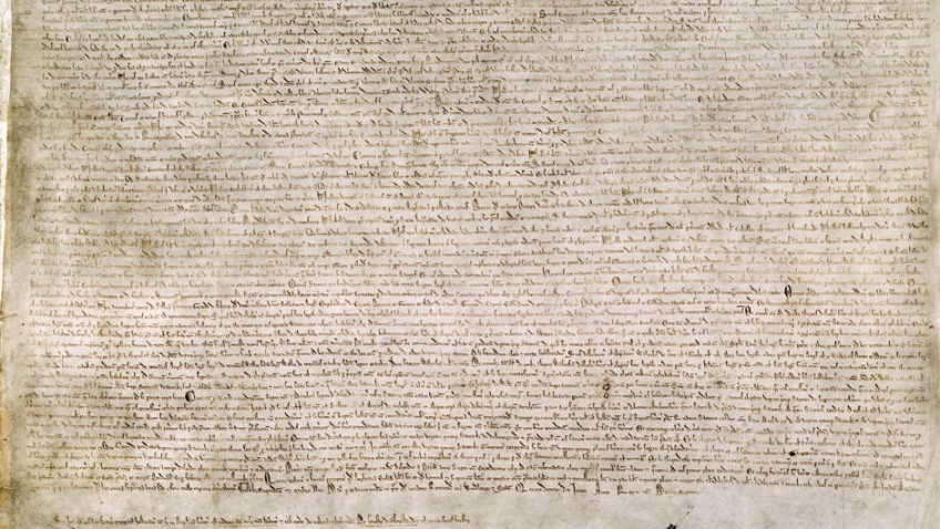 The Magna Carta and 800 years of democracy