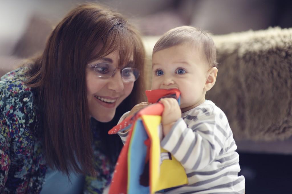 Dr Miriam and child