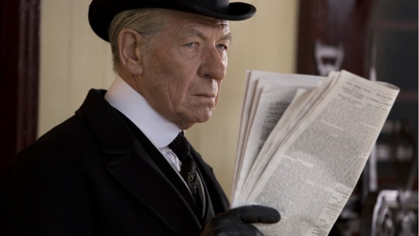Ian McKellen shines above a meandering, unfocused drama about Sherlock Holmes