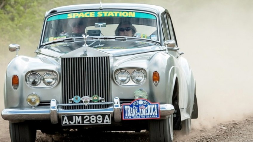 World's oldest rally driver