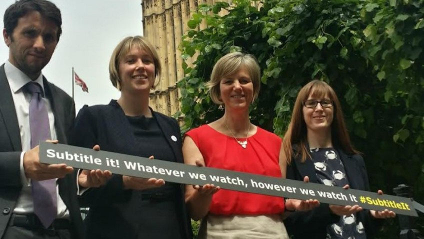 MP backs Subtitle It! campaign