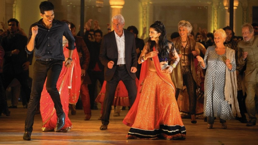 Audiences are booking into the Marigold Hotel for a second time in large numbers