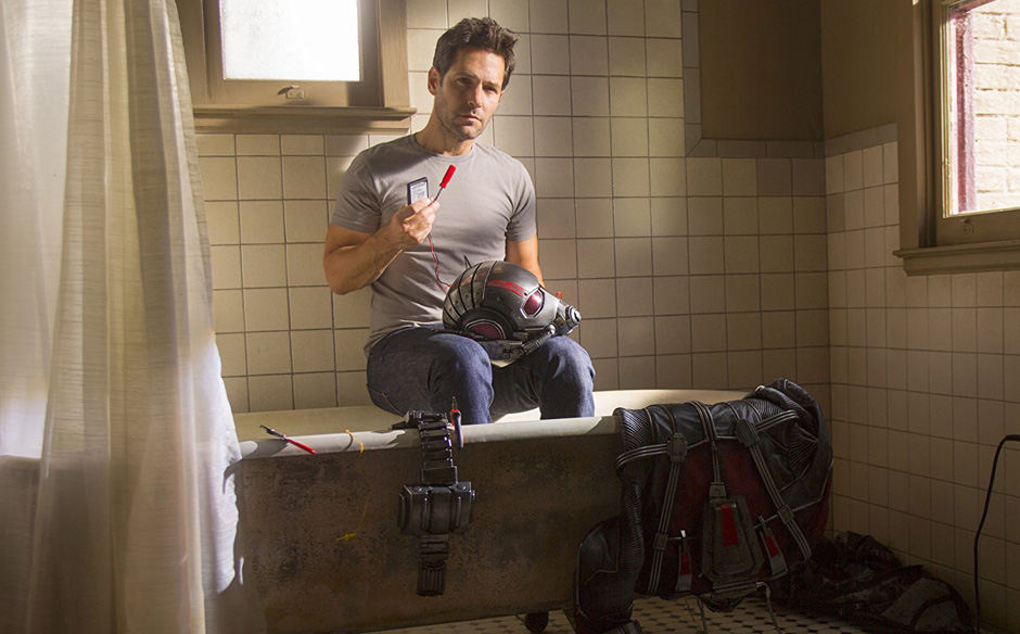 Paul Rudd in Ant-Man - Credit IMDB