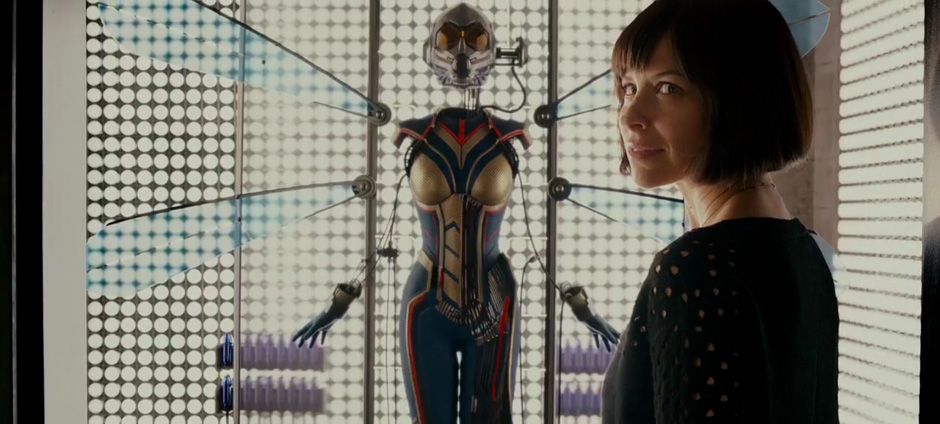 Evangeline Lilly in Ant-Man - Credit IMDB