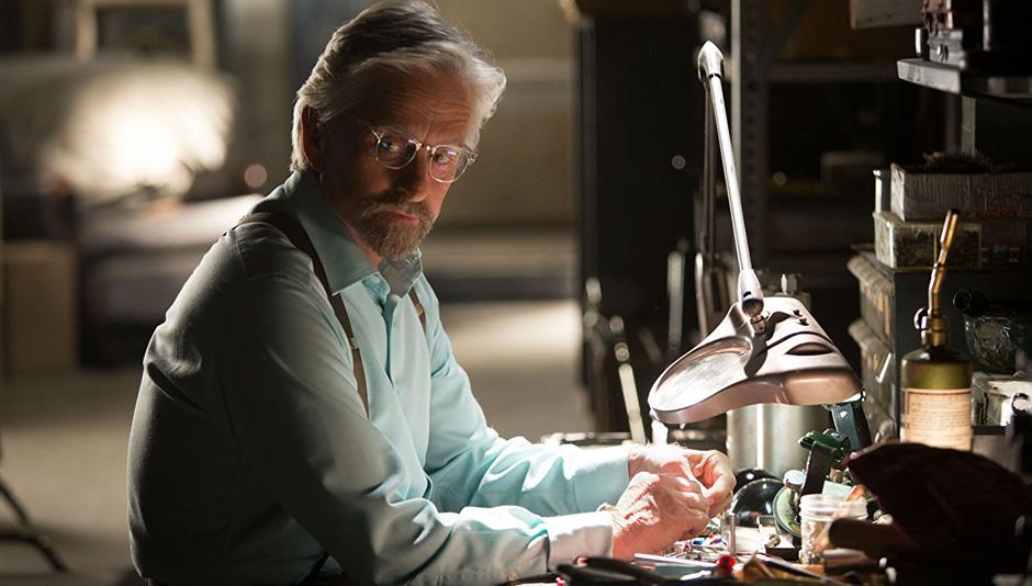 Michael Douglas in Ant-Man - Credit IMDB