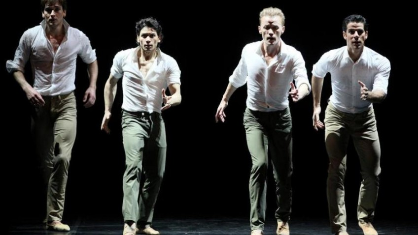 Three diverse contemporary dance pieces danced by an all-star company