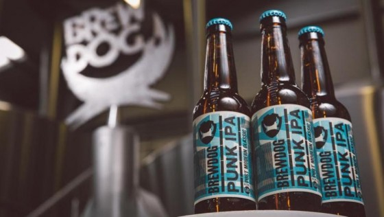Win £100 of BrewDog craft beer, Punk IPA!