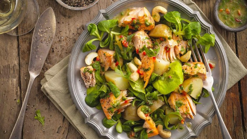 Get your kicks this Summer with a zesty salmon salad