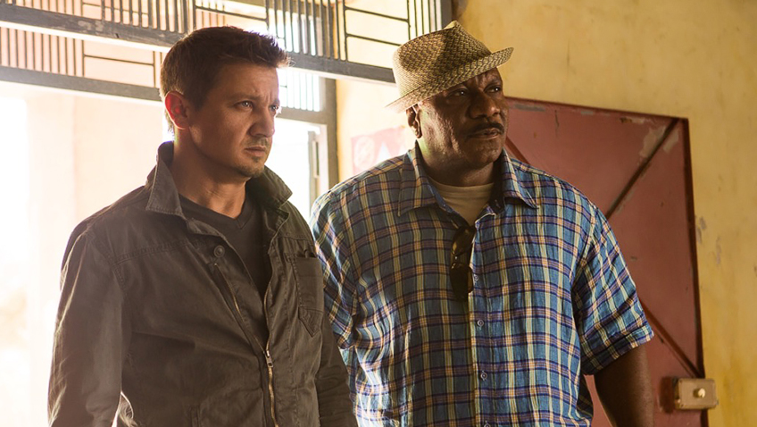 Ving Rhames and Jeremy Renner in Mission: Impossible - Rogue Nation - Copyright Paramount Pictures - Credit IMDB