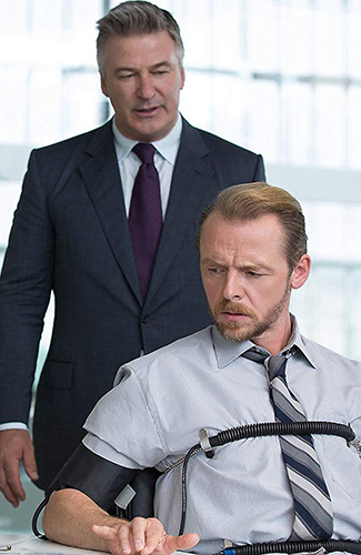 Alec Baldwin and Simon Pegg in Mission: Impossible - Rogue Nation - Copyright Paramount Pictures - Credit IMDB