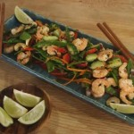 Summer Fresh Asian Prawn Salad