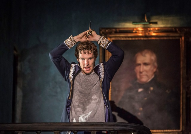 9. Benedict Cumberbatch (Hamlet) in Hamlet at the Barbican Theatre. Photo credit Johan Persson