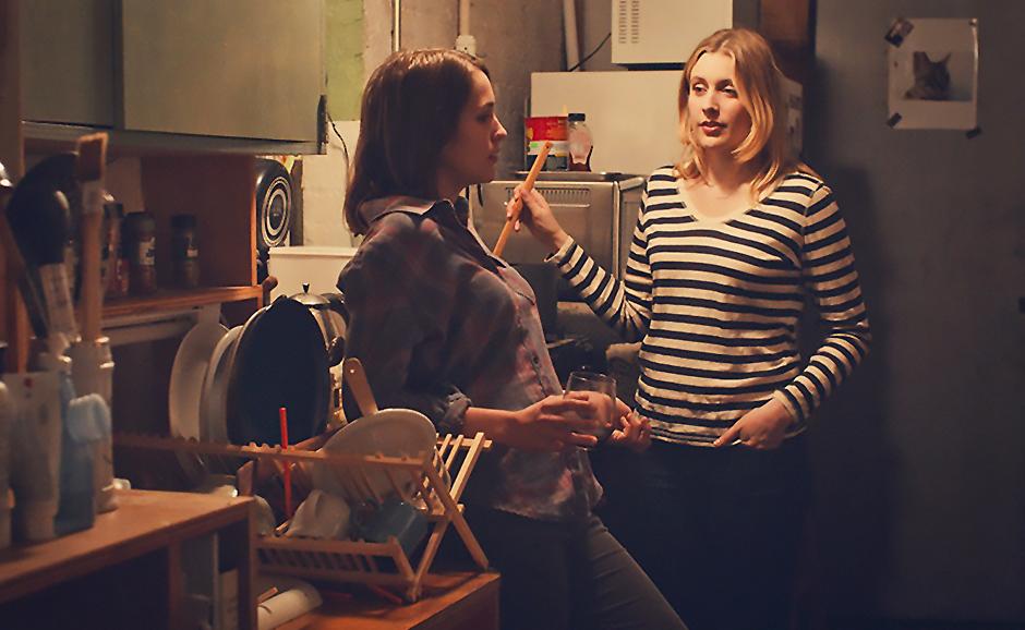 Greta Gerwig and Lola Kirke in Mistress America - Credit IMDB