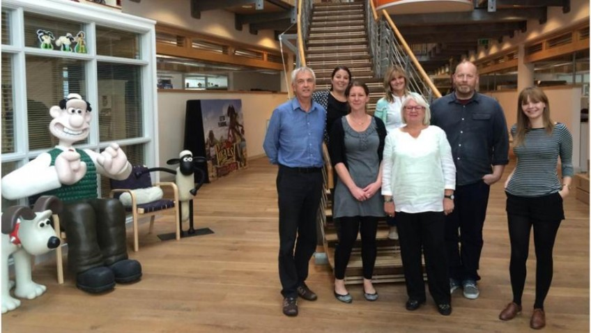 Bristol Ageing Better and Aardman join forces to tackle loneliness amongst older people