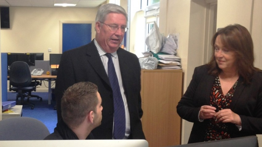 Visit to see How the Voices of Older Victims of Crime are Heard in Gwent