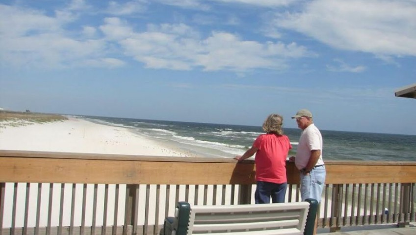 Joining the flight of the Snowbirds to Orange Beach and Gulf Shores