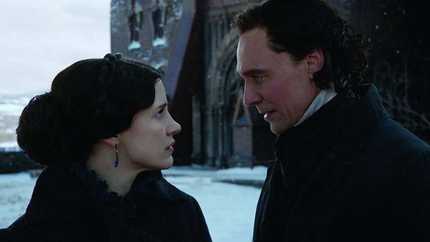 Tom Hiddleston and Jessica Chastain in Crimson Peak - Copyright 2015 - Universal Pictures - Credit IMDB