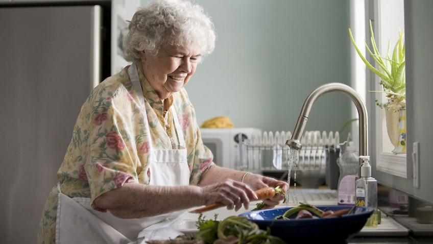 Over 60s reveal diet of snacks and ready meals