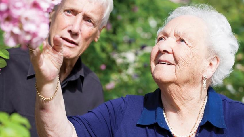 Retirees living golden years to full