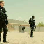 Emily Blunt and Daniel Kaluuya in Sicario - Credit IMDB