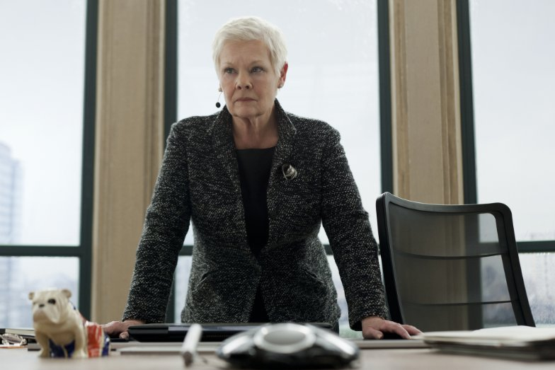 Judi Dench in Skyfall - Credit IMDB