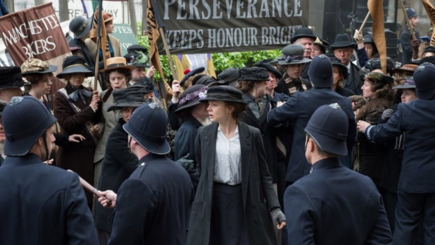 'Deeds, not Words' was the Suffragette motto