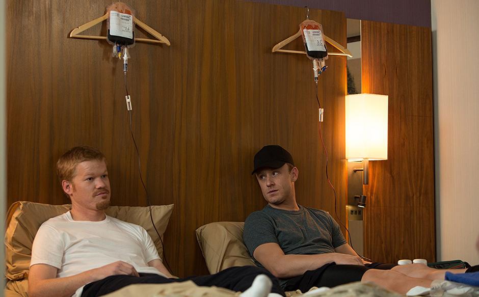 Ben Foster and Jesse Plemons in The Program - Credit IMDB