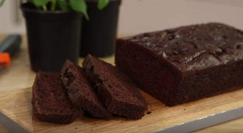 Chocolate courgette bread recipe