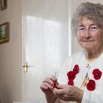 Jean claims creating 20 crochet poppies a day helps battle arthritis