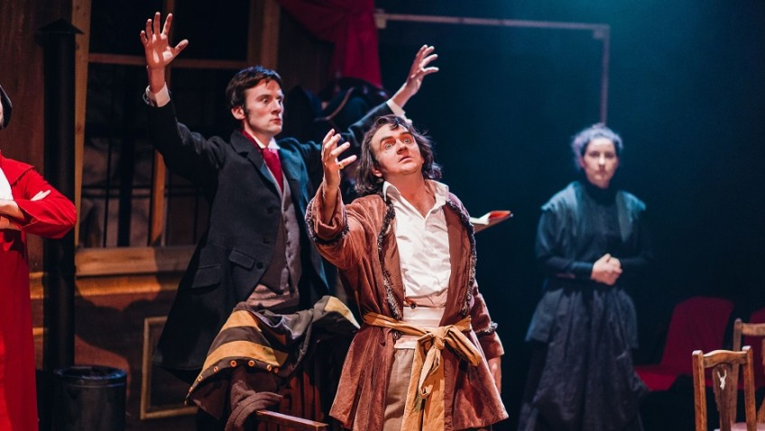 """Henry Irving scored his biggest success in """"The Bells"""""""