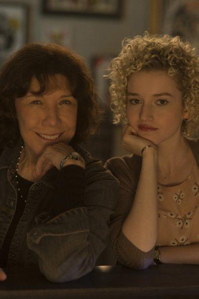 Lily Tomlin and Julia Garner in Grandma - Credit IMDB