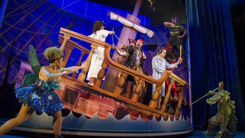 """""""Peter Pan Goes Wrong is the funniest show in town!"""""""