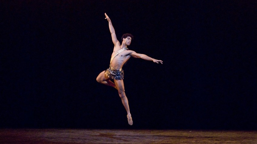 A showcase for a great male ballet dancer