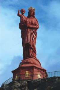 Auvergne, The Virgin Mary  credit Aiden Sawley