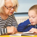 reading to children in retirement