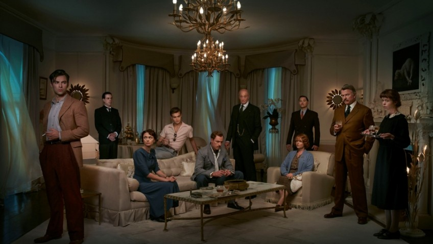 Agatha Christie's cleverest plot is filmed with a star cast