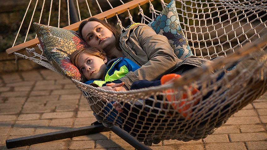 Brie Larson and Jacob Tremblay in Room - Credit IMDB