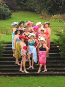 Women's Institute - strip teas - credit SWNS