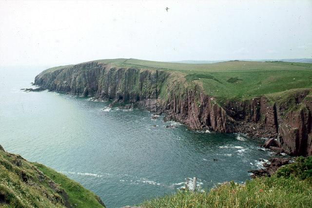 Caldey Island 6/73