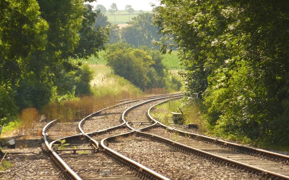 railway line, Free for commercial use  No attribution required. Credit Pixabay