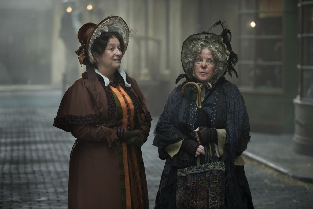 Mrs Gamp (Paulie Collins), Mrs Bumble (Caroline Quentin)