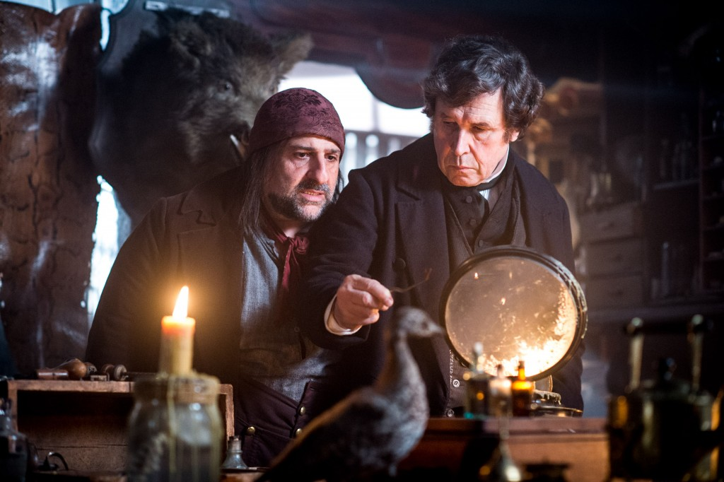 WARNING: Embargoed for publication until 00:00:01 on 02/02/2016 - Programme Name: Dickensian - TX: 12/02/2016 - Episode: n/a (No. 17) - Picture Shows:  Inspector Bucket (STEPHEN REA) - (C) Red Planet Pictures - Photographer: Liam Daniel