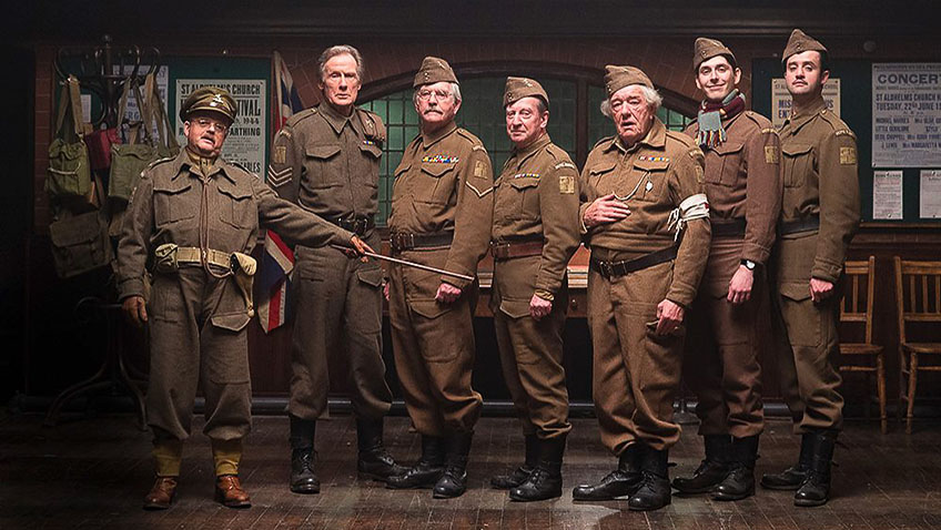 Michael Gambon, Tom Courtenay, Toby Jones, Bill Nighy, Bill Paterson, Daniel Mays and Blake Harrison in Dad's Army - Credit IMDB
