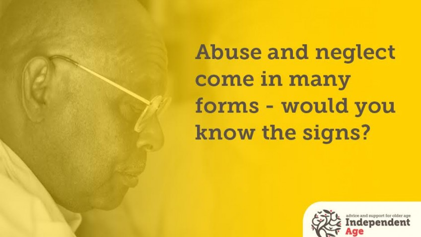 Abuse and neglect come in many forms – would you know the signs?